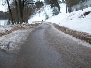 Kul att se lite asfalt igen